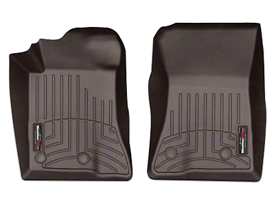 Weathertech DigitalFit Front All Weather Floor Liners - Cocoa (15-18 All)