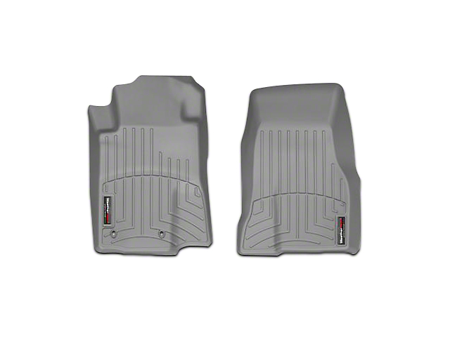 Weathertech DigitalFit Front All Weather Floor Liners - Gray (10-12 All)