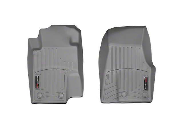 Weathertech DigitalFit Front All Weather Floor Liners - Gray (13-14 All)