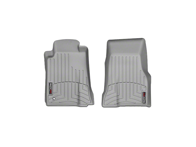Weathertech DigitalFit Front All Weather Floor Liners - Gray (05-09 All)