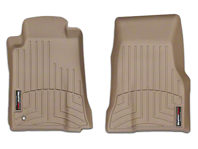 Weathertech DigitalFit Front All Weather Floor Liners - Tan (05-09 All)