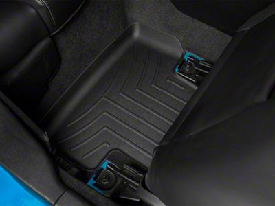 Weathertech DigitalFit Rear All Weather Floor Liners - Black (05-14 All)