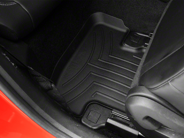 Weathertech DigitalFit Rear All Weather Floor Liners - Black (15-18 All)