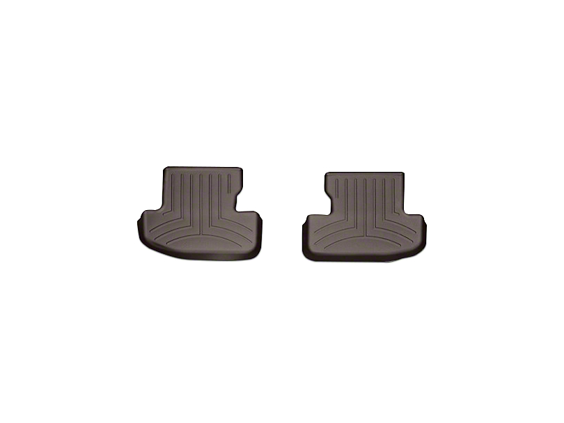 Weathertech DigitalFit Rear All Weather Floor Liners - Cocoa (15-18 All)