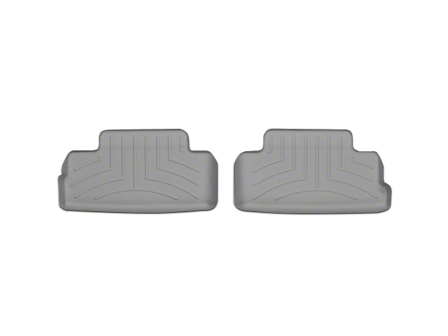 Weathertech DigitalFit Rear All Weather Floor Liners - Gray (05-14 All)