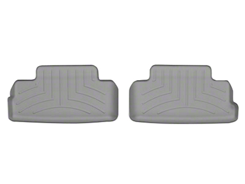 Weathertech DigitalFit Rear All Weather Floor Liners - Gray (05-14 All)
