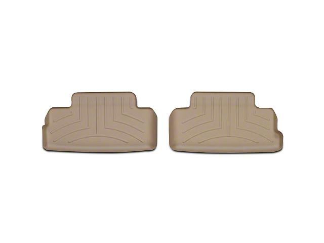 Weathertech DigitalFit Rear Floor Liners; Tan (05-14 All)