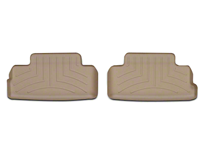 Weathertech DigitalFit Rear All Weather Floor Liners - Tan (05-14 All)