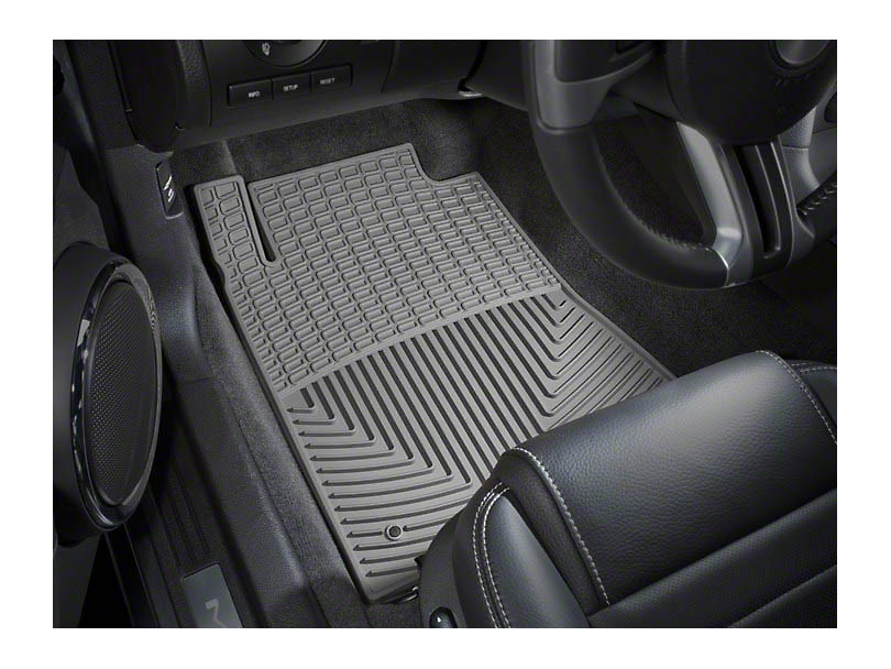 Weathertech All Weather Front Rubber Floor Mats - Gray (09-10 All)