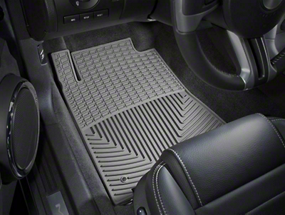 Weathertech All Weather Front Rubber Floor Mats - Gray (10-14 All)