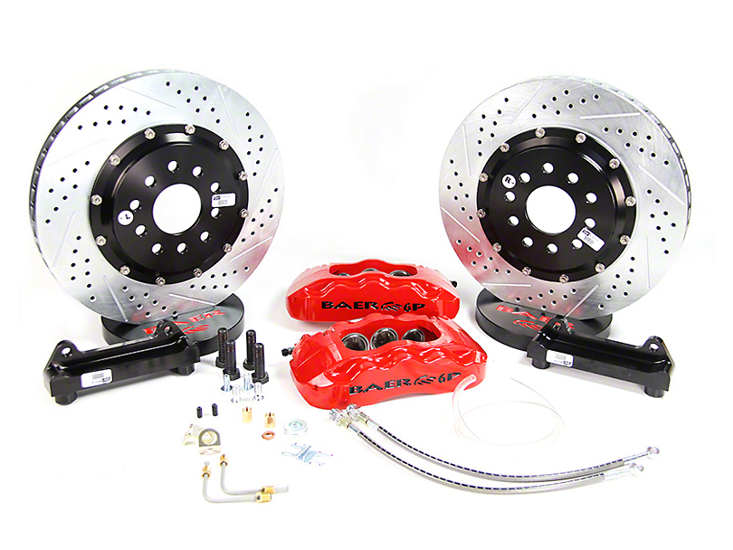 Baer Pro Plus Front Big Brake Kit - Silver Calipers (94-04 All)