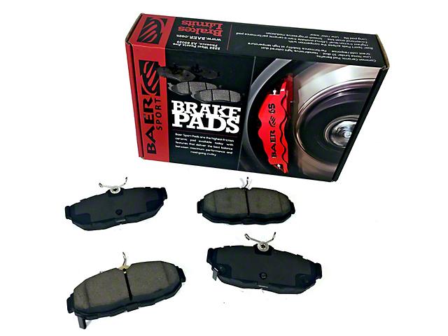 Baer Sport Brake Pads - Front Pair (11-14 GT Brembo; 12-13 BOSS 302; 07-12 GT500)