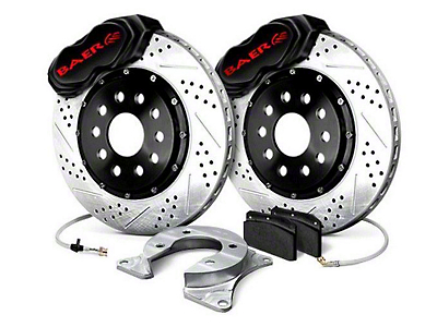 Baer SS4 Plus Rear 5-Lug Brake Kit - Black (79-93 All)