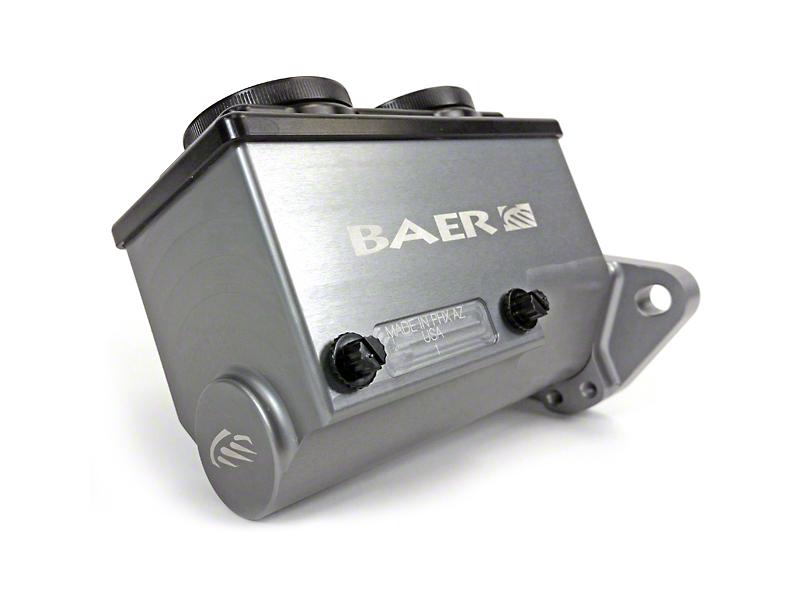 Baer Remaster Master Cylinder w/ Passenger Side Ports - Hard Anodized (79-95 All)