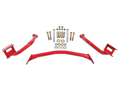 BMR Upper Torque Box Reinforcement Plates - Red (79-04 All)