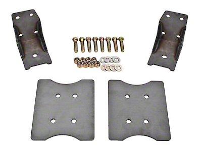 BMR Lower Torque Box Reinforcment Plates - Raw (79-04 All)