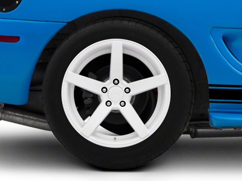 Rovos Durban Gloss White Wheel - 18x10.5 - Rear Only (94-04 All)