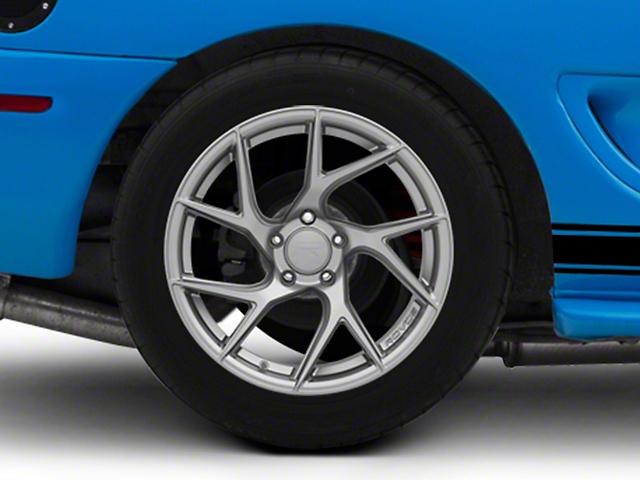 Rovos Joburg Satin Gunmetal Wheel; Rear Only; 18x10.5 (94-98 All)