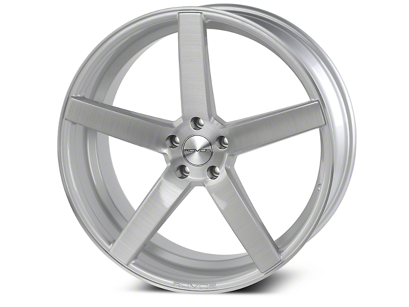 Rovos Durban Gloss Silver Brushed Wheel - 20x10 (15-18 GT, EcoBoost, V6)