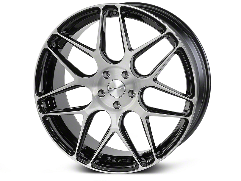 Rovos Pretoria Gloss Black Brushed Wheel - 20x8.5 (05-09 All)