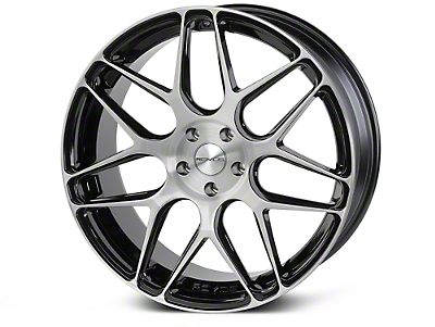 Rovos Pretoria Gloss Black Brushed Wheel - 20x8.5 (15-18 GT, EcoBoost, V6)