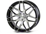 Rovos Pretoria Gloss Black Brushed Wheel; 20x8.5 (15-20 GT, EcoBoost, V6)