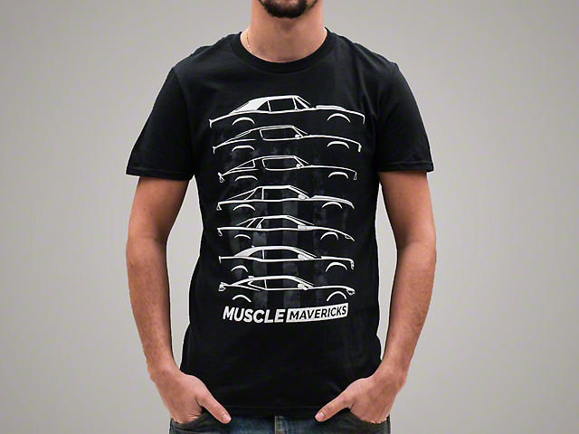 Rovos Muscle Mavericks American Glory Silhouette T-Shirt