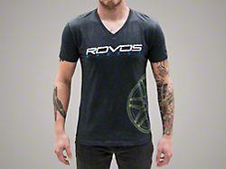Rovos Wheels Gray w/ Green Logo T-Shirt