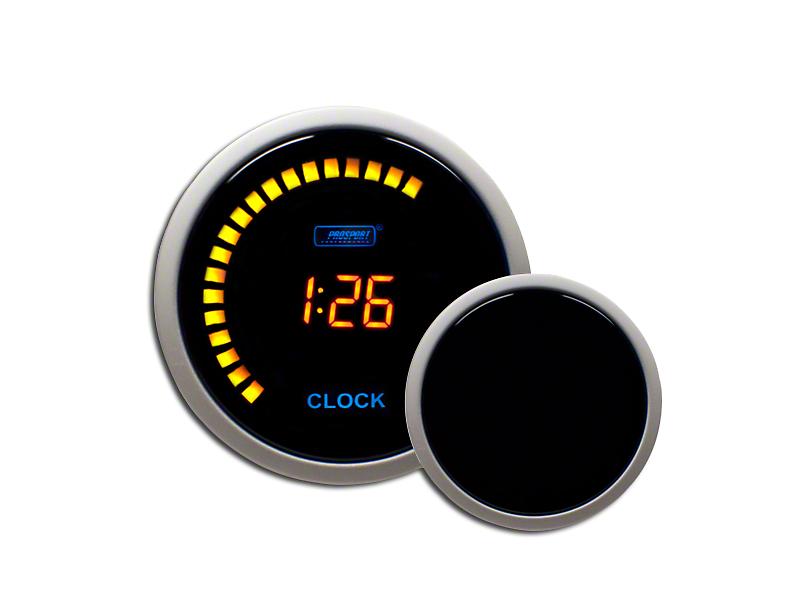 Prosport Digital Clock - Amber (79-18 All)