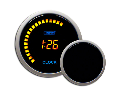 Prosport Digital Clock - Amber (79-18 All)