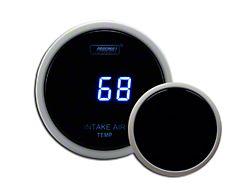 Prosport Digital Intake Temperature Gauge - Electrical - Blue (Universal Fitment)