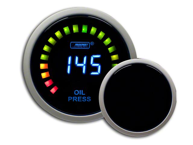 Prosport Digital Oil Pressure Gauge - Electrical (79-18 All)