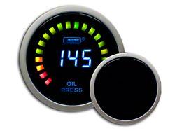Prosport Digital Oil Pressure Gauge - Electrical (Universal Fitment)