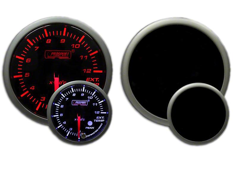 Prosport Dual Color Premium Metric EGT Gauge - Amber/White (79-18 All)