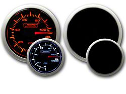 Prosport Dual Color Oil Pressure Gauge - Electrical Amber/White (79-19 All)