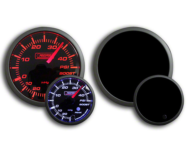 Prosport Dual Color 45 PSI Boost Gauge - Electrical - Amber/White (79-19 All)