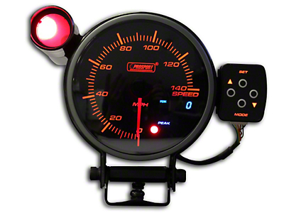 Prosport 0-140 MPH Electronic Speedometer - 95mm (79-18 All)