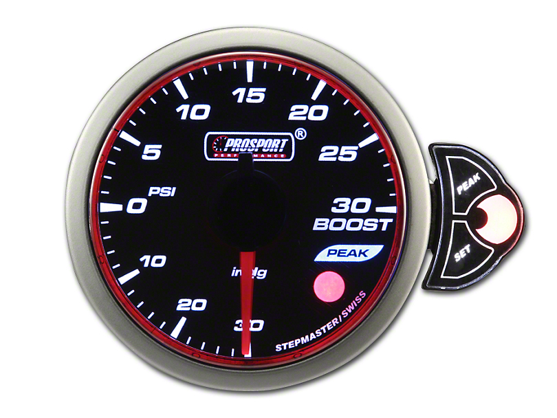 Prosport Halo 30 PSI Boost Gauge - Electrical (79-19 All)