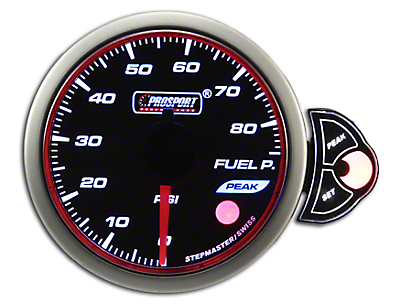 Prosport Halo Fuel Pressure - Electrical (79-18 All)