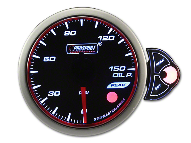Prosport Halo Oil Pressure Gauge - Electrical (79-18 All)