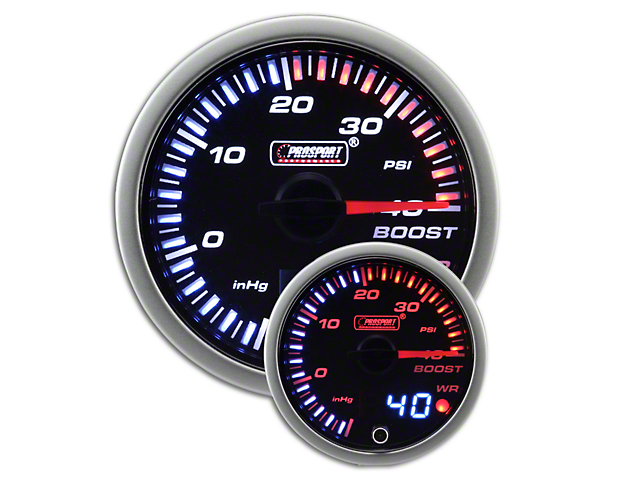 Prosport JDM Boost Pressure Gauge - Electrical (79-18 All)