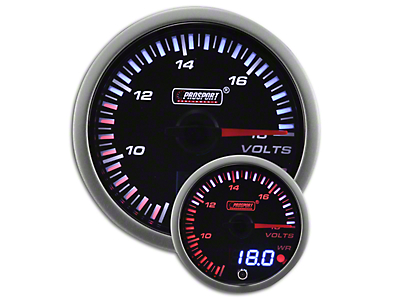Prosport JDM Volt Gauge - Electrical (79-18 All)