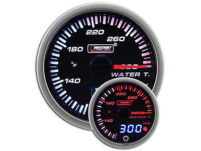 Prosport JDM Water Temperature Gauge - Electrical (79-18 All)