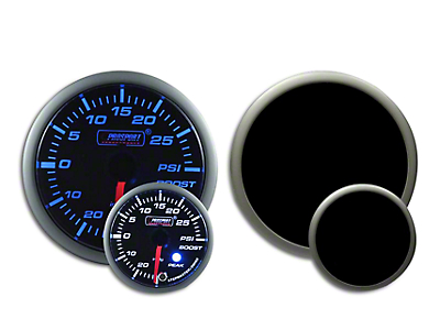 Prosport Dual Color Premium Boost Gauge - Electrical - Green/White (79-19 All)