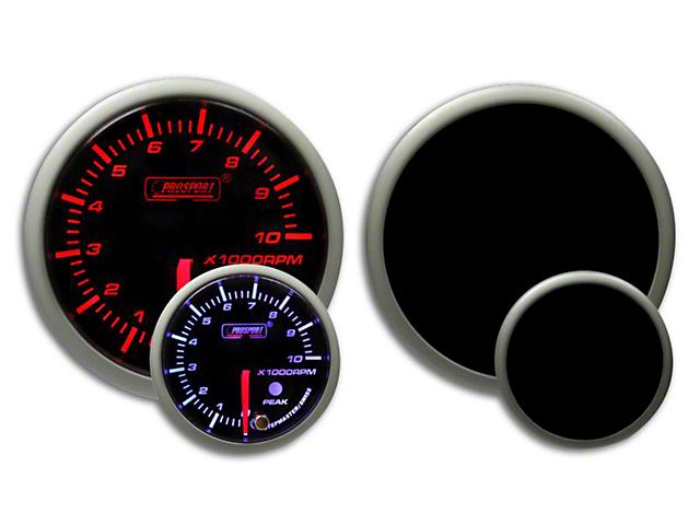 Prosport Dual Color Premium Dual Color Tachometer - Amber/White (79-18 All)
