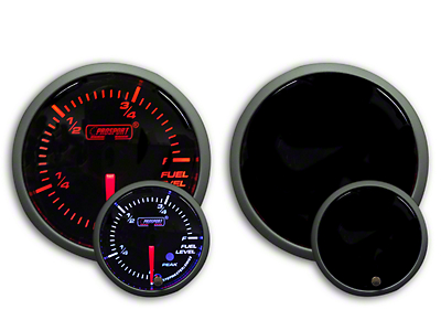 Prosport Dual Color Premium Fuel Level Gauge - Amber/White (79-18 All)