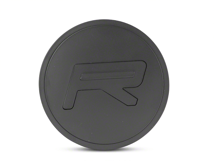 Rovos Multi Piece R Satin Black Center Cap (94-19 All)