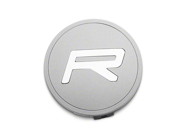 Rovos Wheels 3-Piece R Satin Silver Center Cap (94-21 All)
