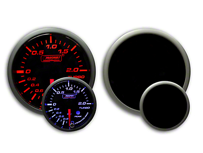 Prosport Dual Color Premium Metric Boost Gauge - Amber/White (79-18 All)