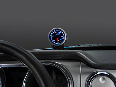 Prosport Dual Color Premium 0-150 PSI Oil Pressure Gauge - Blue/White (79-18 All)